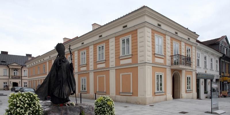 Wadowice - the hometown of Pope John Paul II