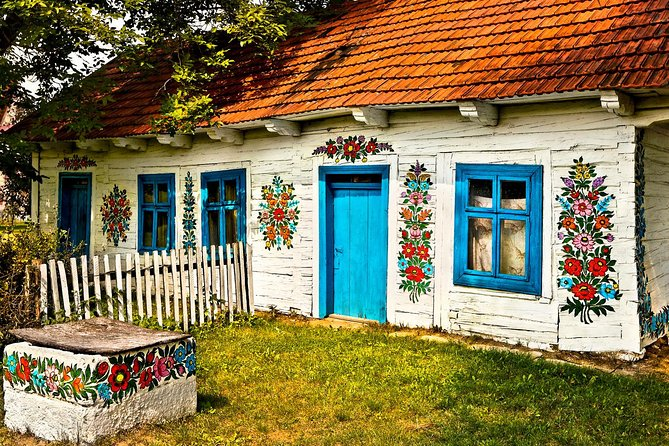 Zalipie Painted Village in Poland