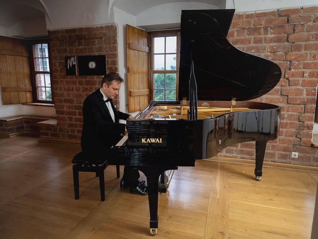 Frederic Chopin piano concert in the Royal Castle in Warsaw
