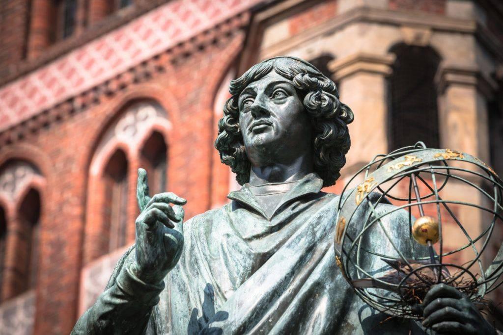Nicolaus Copernicus monumetn in Torun