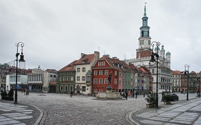 Old town in Poznan, Poland