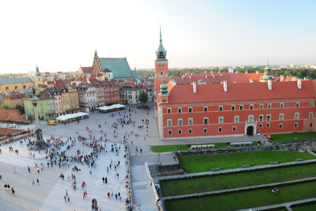 Castle Square in Warsaw