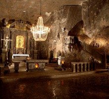 St. Kinga's Chapel in Wieliczka Salt Mine