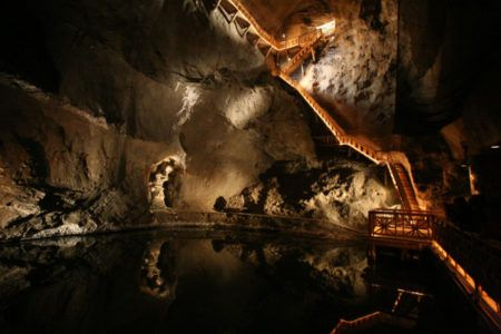 Wieliczka Salt Mine interiors