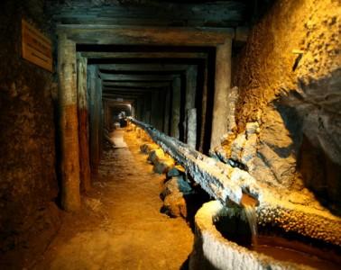 Wieliczka Salt Mine inside