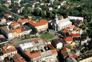 Wadowice Old Town