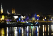 Torun, Poland, night view
