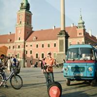 Segway Warsaw tour in communist style