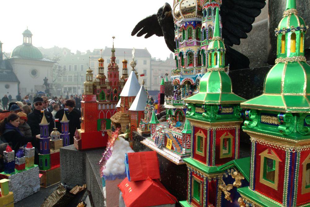 Nativity scene in Krakow