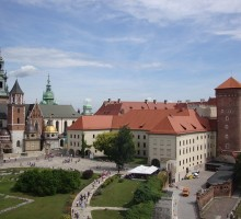 Wawel Hill in Krakow