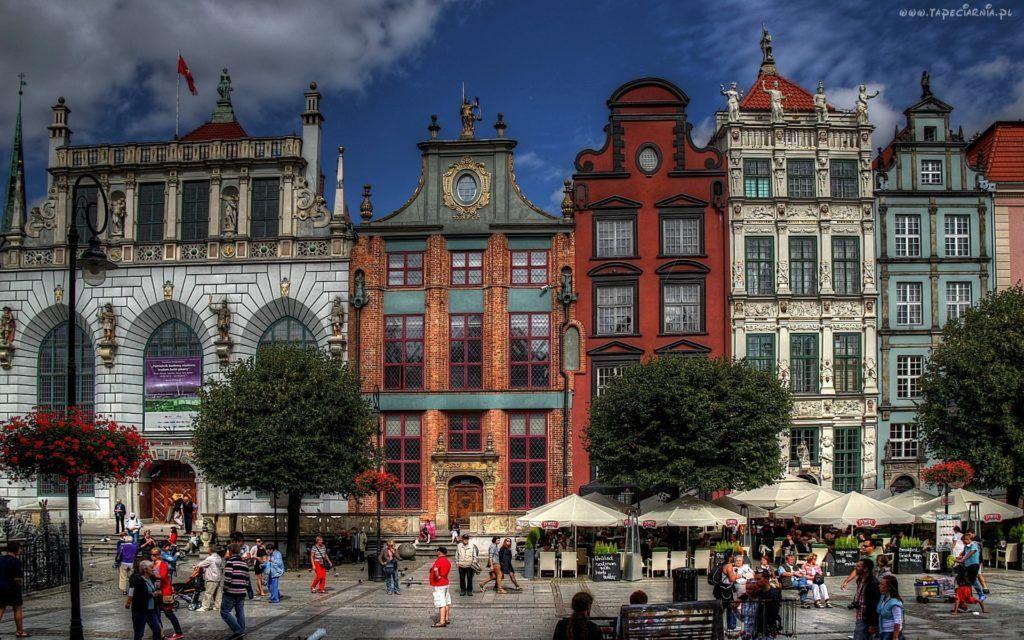 Long Market in Gdansk