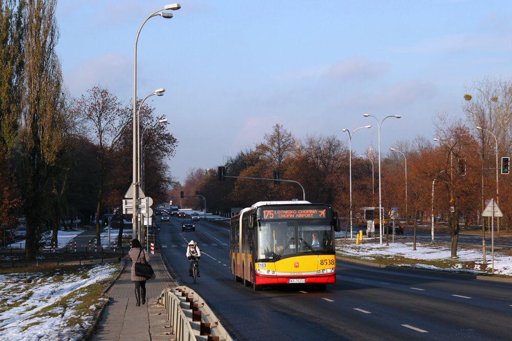 Warsaw bus