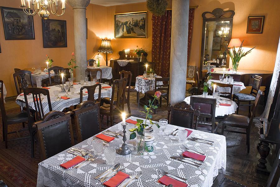 Jewish restaurant in Kazimierz district