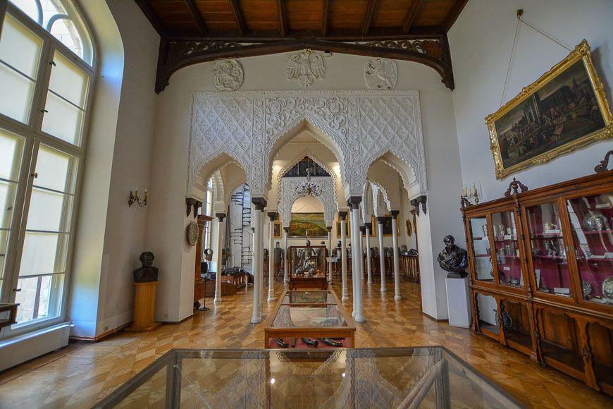 Kornik Castle from the inside