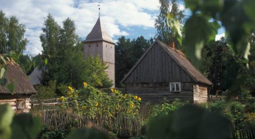 Kashubian Ethnographic Park in Wdzydze Kiszewskie