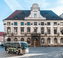 Wroclaw tour by electric car