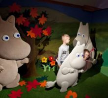 Museum of Cinematography in Lodz - Moomins