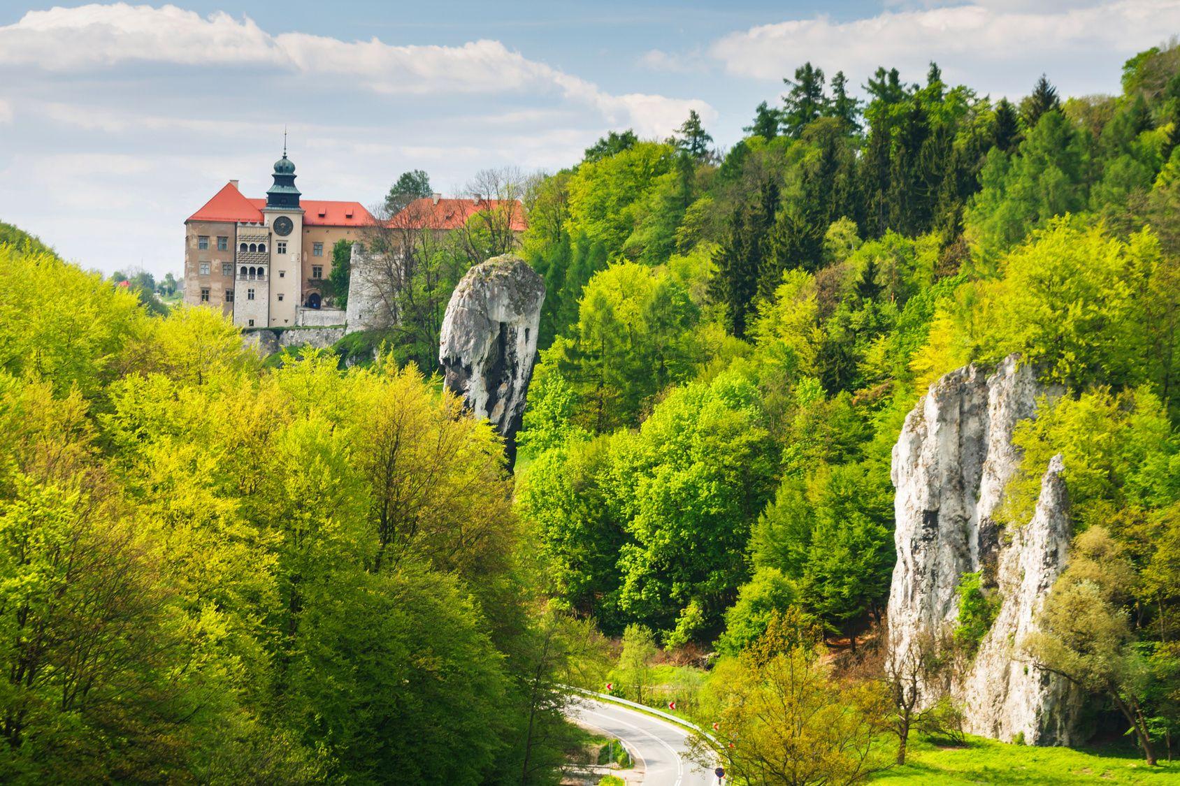Pieskowa Skala Castle, Ojcow