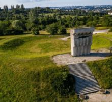 tour to extermination camp in Plaszow