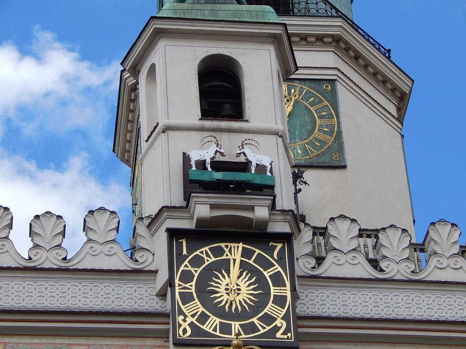Poznan Town Hall goats
