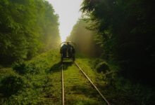 Narrow-gauge railway Hajnowka-Topilo