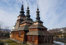 wooden church in Owczary