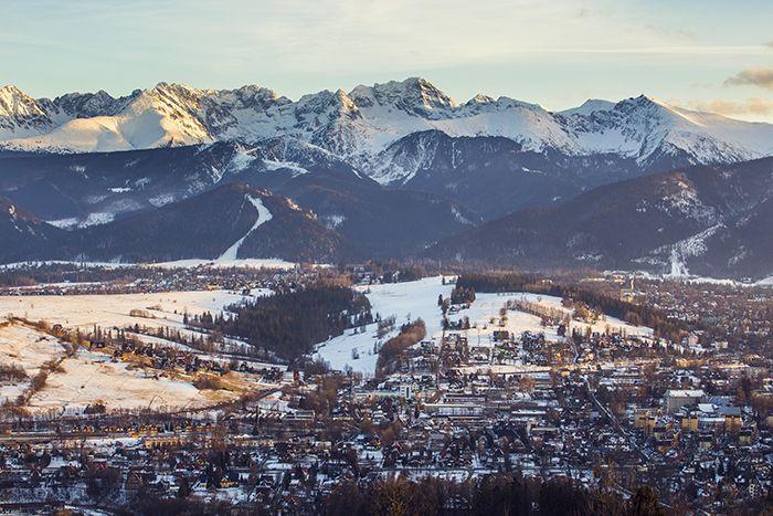Gubalowka Hill with panorama of the Tatras