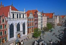 Long Market in Gdansk