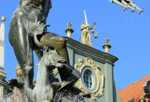 Gdansk, Neptune's Fountain