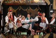 Folk dance group in Krakow