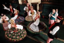 Folk dance show in Krakow
