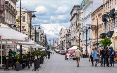 Lodz, Piotrkowska Street