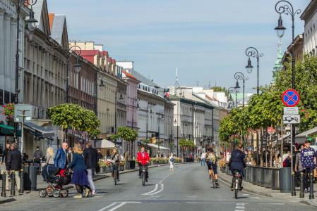 Nowy Swiat in Warsaw