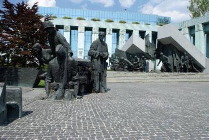 Krasinskich Square in Warsaw