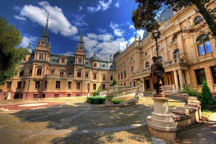 Poznanski Palace in Lodz