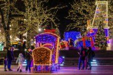 Warsaw, christmas illumination