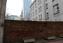 Remains of Ghetto Wall
