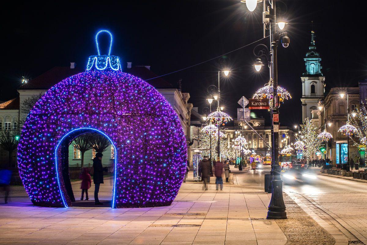 Warsaw Christmas Lights