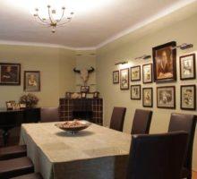 Zabinski Willa inside - living room