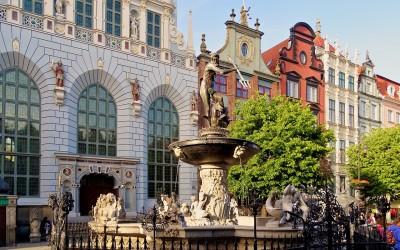 Gdansk, Neptune's Fountain